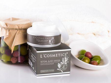 Крем для лица «Питательный» с маслом оливы