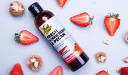 """Гель для душа - Fresh strawberry Сладкая клубника и орех пекан """"Витаминизирующий"""""""