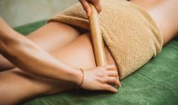 Антицеллюлитный массаж бамбуковыми палочками