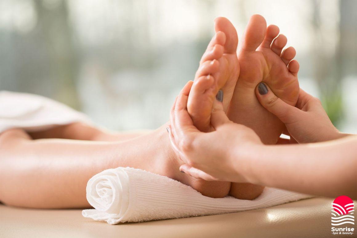 Профессиональный массаж ступней