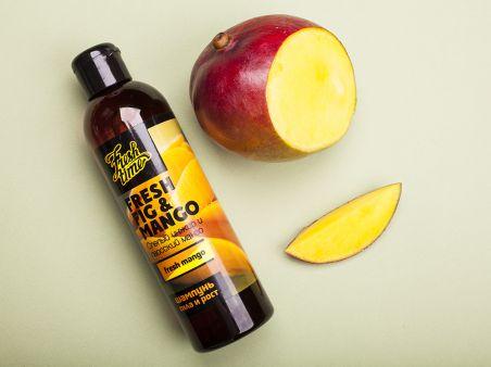 """Fresh mango шампунь Лаосский манго и спелый инжир - """"Сила и рост"""""""