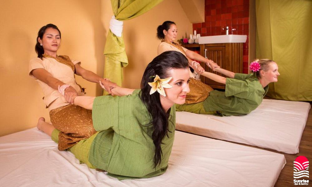 Сделать тайский массаж в SunriseSpa
